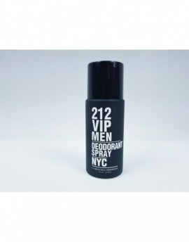 DEZODORANT CAROLINA HERRERA 212 VIP MEN 150ML