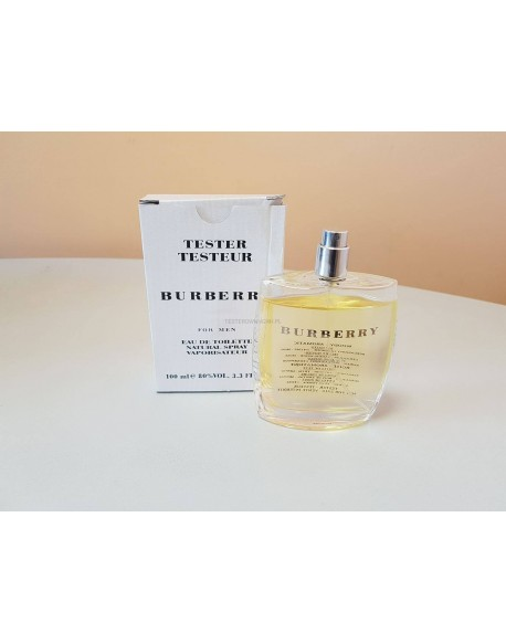 BURBERRY FOR MEN 100 ML EDT TESTER