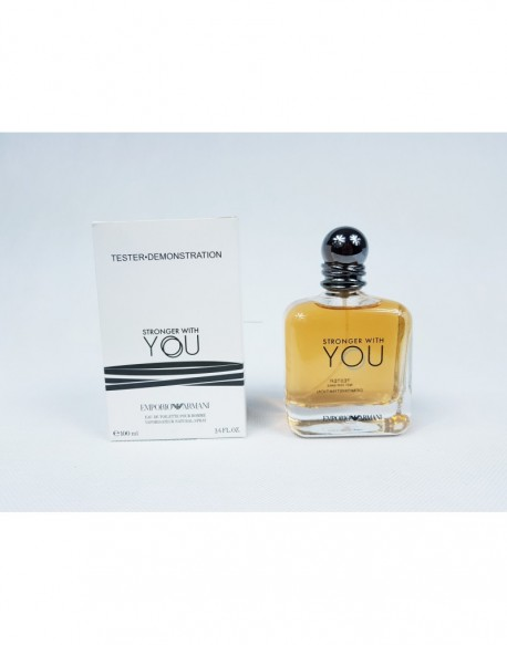 GIORGIO ARMANI STRONGER WITH YOU ! 100ML EDT