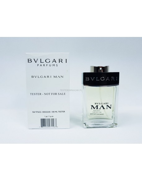 BVLGARI MAN 100ML EDP TESTER