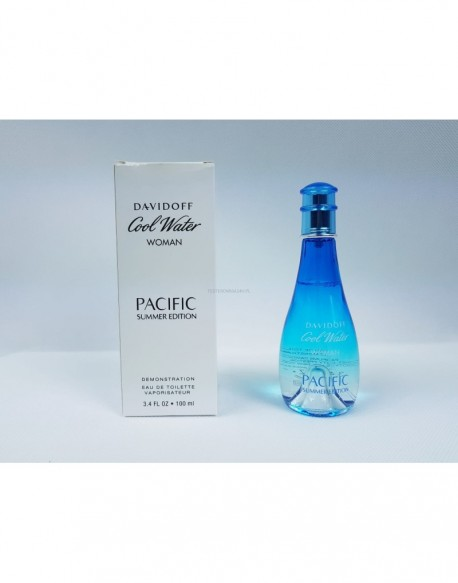 DAVIDOFF COOL WATER WOMAN PACIFIC SUMMER EDITION 100ML EDT
